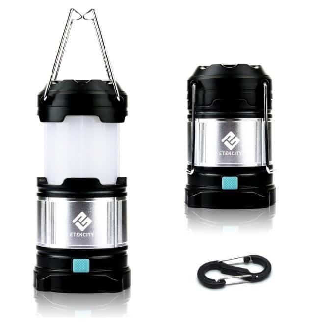 Etekcity 1 Pack Portable Rechargeable LED camping Lantern and 4400 mah PowerBank $18.99+ free shipping at Amazon.com