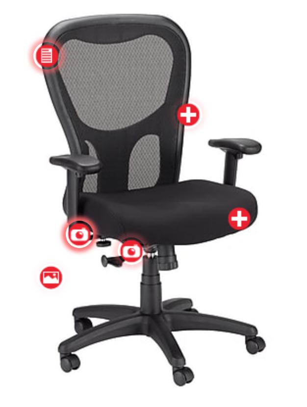 Tempur-Pedic TP9000 Office Chair for $145 w/ Visa Checkout @ Staples.com