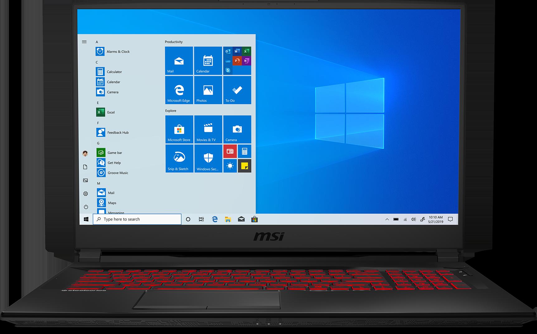 """MSI GL75 17.3"""" Gaming Laptop: i7-9750H, 1080p 144Hz, GTX 1660 Ti, 16GB RAM, 256GB SSD + 1TB HDD $969"""
