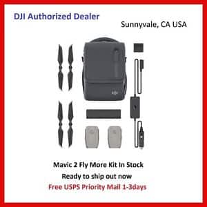 DJI Mavic 2 Fly More Kit (Pro/Zoom) + 10% Bucks via eBay App $338