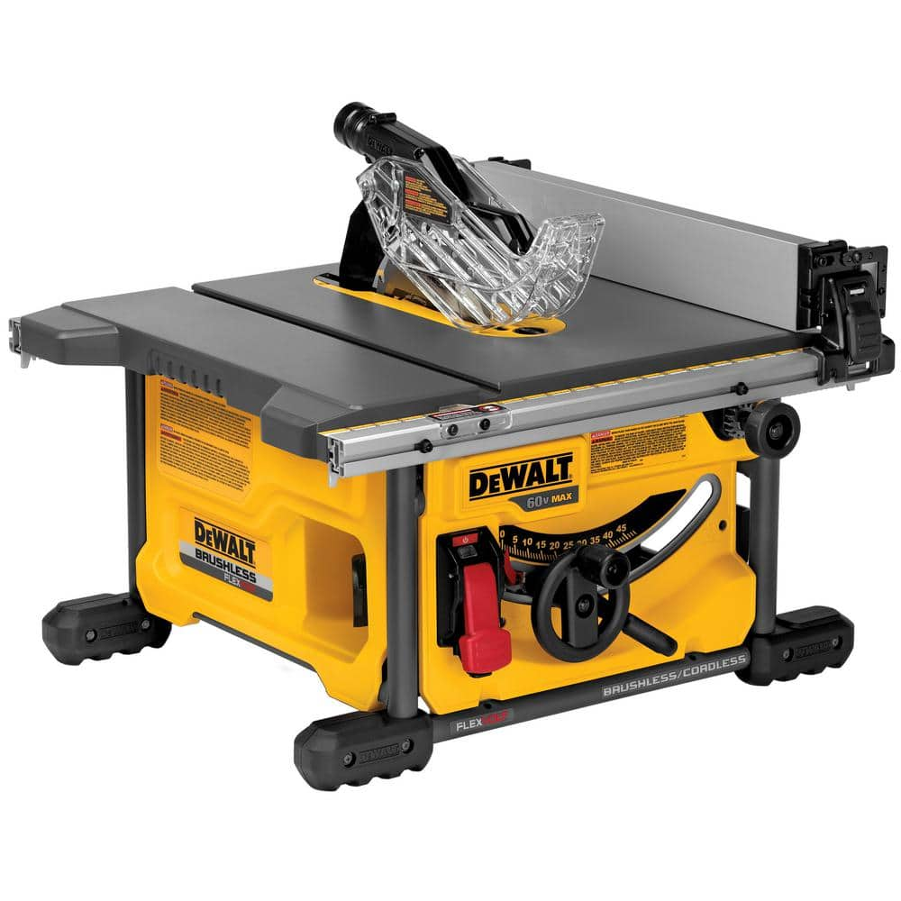 DeWALT FLEXVOLT Table Saw after 15% + $30 Rakuten Points $235.79