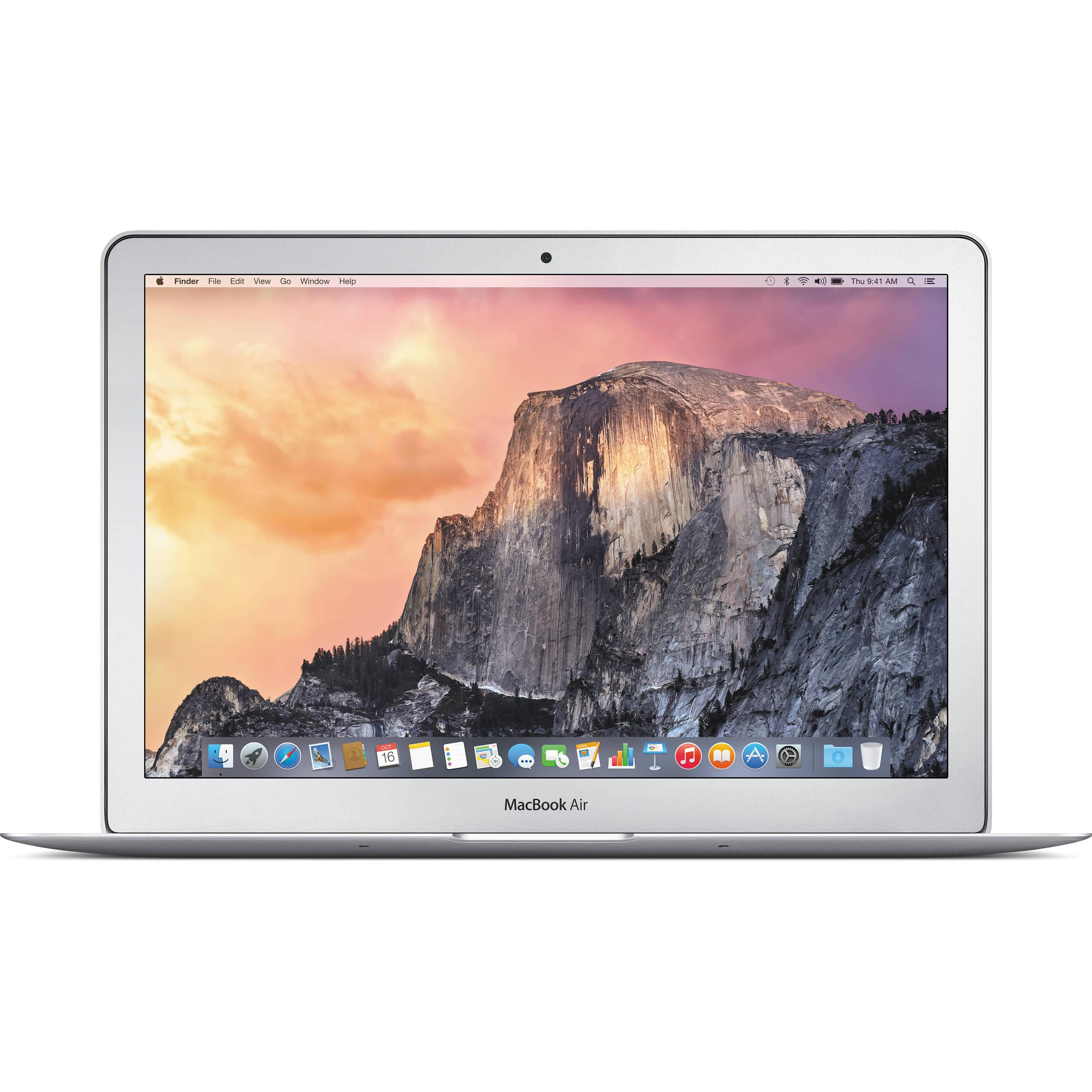 "Apple - MacBook Air® (Latest Model) - 13.3"" Display - Intel Core i5 - 8GB Memory - 128GB Flash Storage - Silver $799.99"