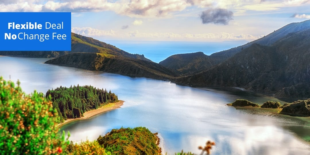Save over $400 on 6 nights of R&R at this 4-star Sao Miguel $498.99