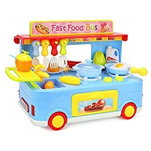Newisland Kitchen Playset 29 Pieces Cooking Toys $13.99 @Amazon