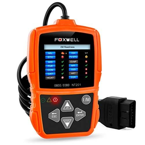 FOXWELL NT201 OBD II Auto Code Scanner Automotive Diagnostic Scan Tool $34.39 +Free Shipping @Amazon $34.99