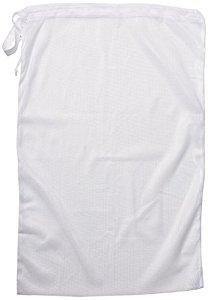 Whitmor Mesh Laundry Bag, White $4.99 at amazon