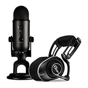 Blue Yeti Microphone Blackout and Lola Headphones $99.99 save $220 (save 69%)