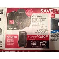 PC Richard & Son Deal: Canon Rebel T3i 18MP (+ 18-55mm) $300 + tax (YMMV) / Canon Rebel T3i + 75-300MM lens + camera $350 + tax  @PC Richards & Son (YMMV) / Canon Rebel T3 $300 + tax