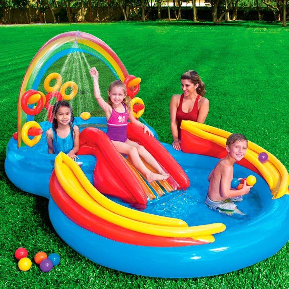 Intex Rainbow Ring Inflatable Play Center $34.99 $35
