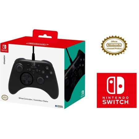 HORI Nintendo Switch HORIPAD Wired Controller Officially
