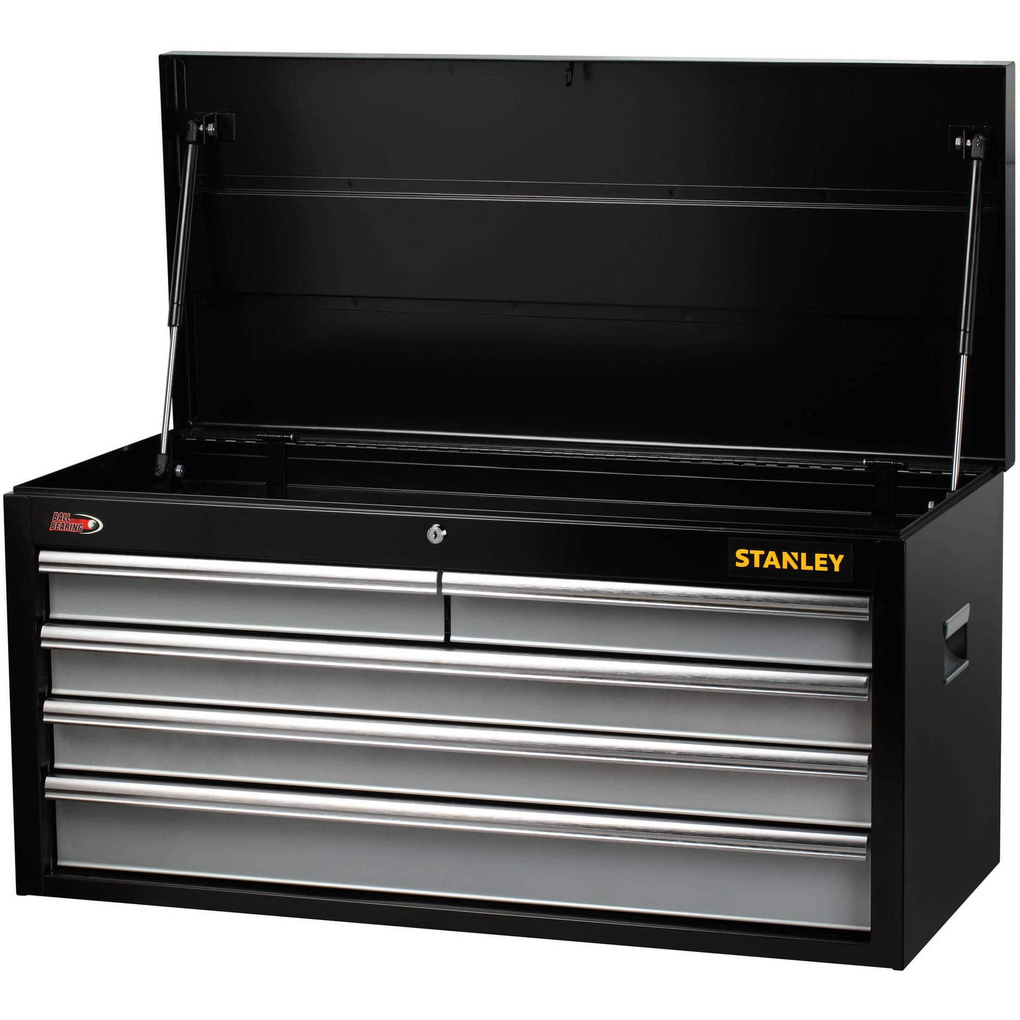 stanley 40 5 drawer tool chest on clearance at walmart for 89