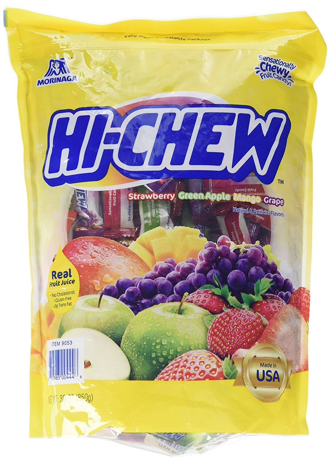 Hi-Chew Fruit Chews, Variety Pack, 30 OZ (1 bag) $12.09