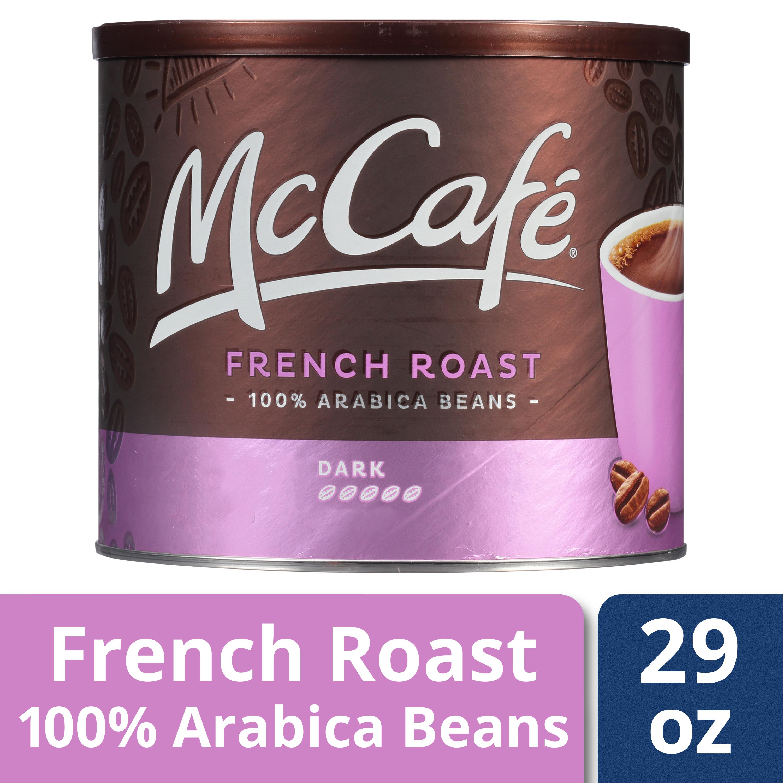 2-Pack 29oz McCafe French Roast Dark 100% Arabica Beans Ground Coffee $11.77