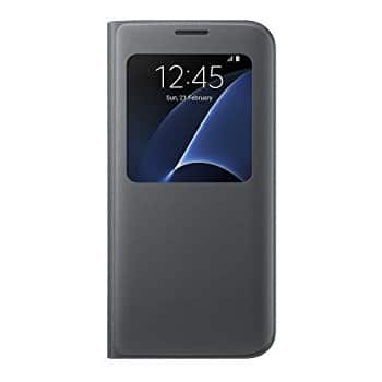 S7 Edge SView Flip Cover for $15.00