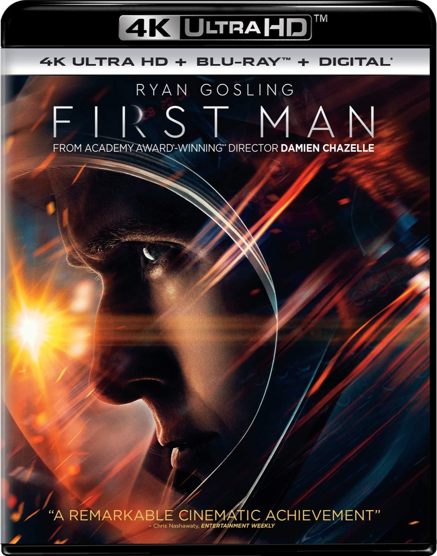 First Man (4K UHD + Blu ray + Digital HD) $14.99 @ Amazon, Target