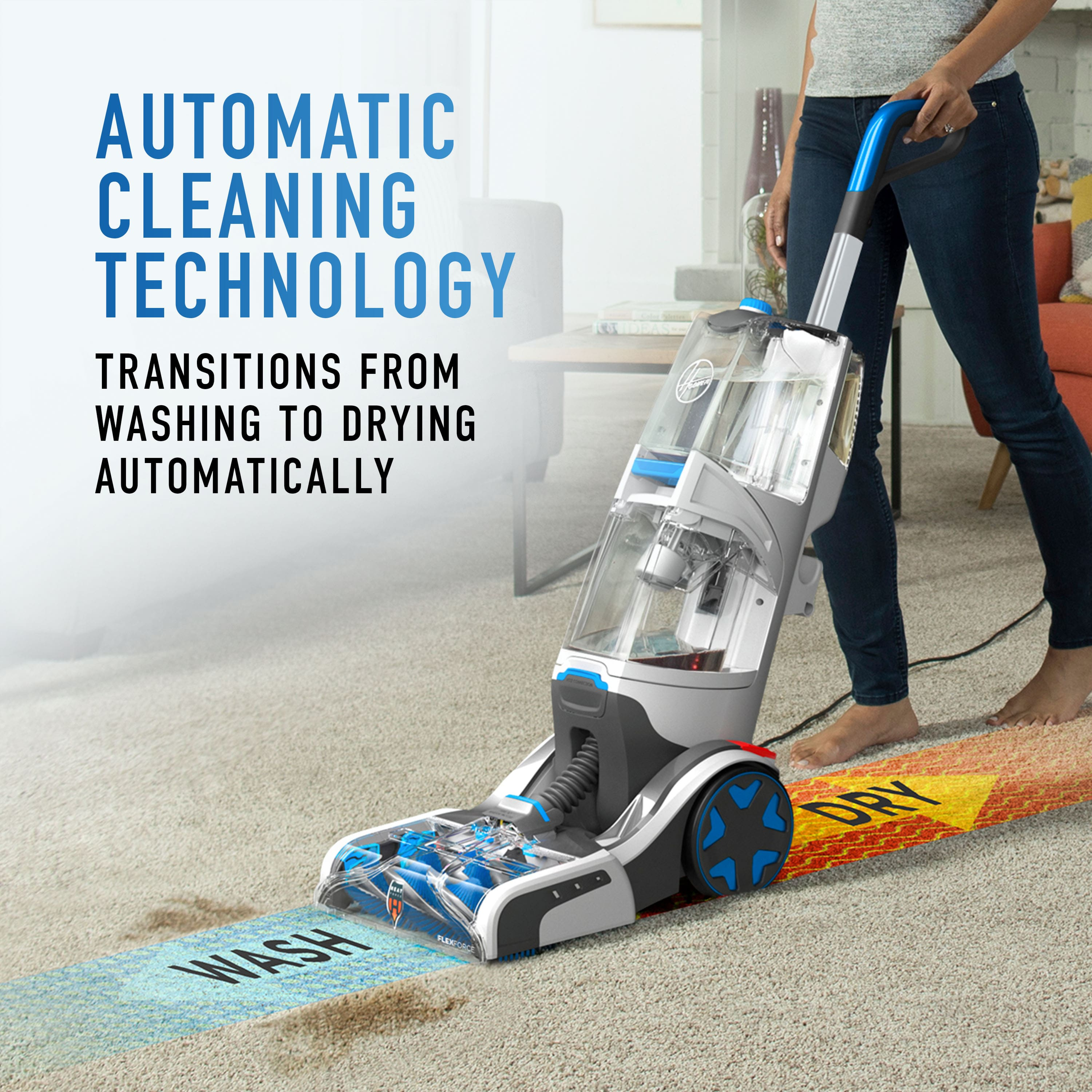 Hoover SmartWash Automatic Carpet Cleaner, FH52001 (Auto heat dry) lowest price $158.4