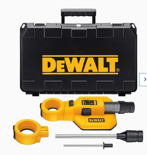 DEWALT Rotary Hammer Dust Extractor $24.75 in store only @lowes YMMV