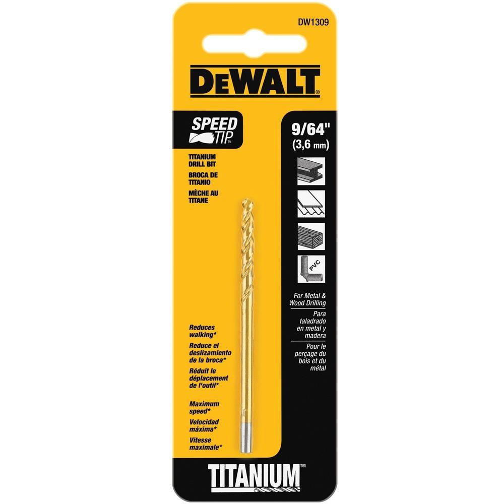 DEWALT Titanium Twist Drill Bit under $1 deal @lowes free ship to store