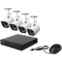 Newegg Deal: Zmodo ZP-KE1H04-S 4 Channels sPoE NVR w/ 4 Day/Night Outdoor HD 720P IP Camera System $171 w/VCO @newegg