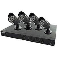 Newegg Deal: LaView LV-KD3544B Complete 4 CH D1 HDMI Security DVR System w/ Easy DIY Four 520TVL Infrared Surveillance Cameras (No HDD) $81 w/VCO @newegg