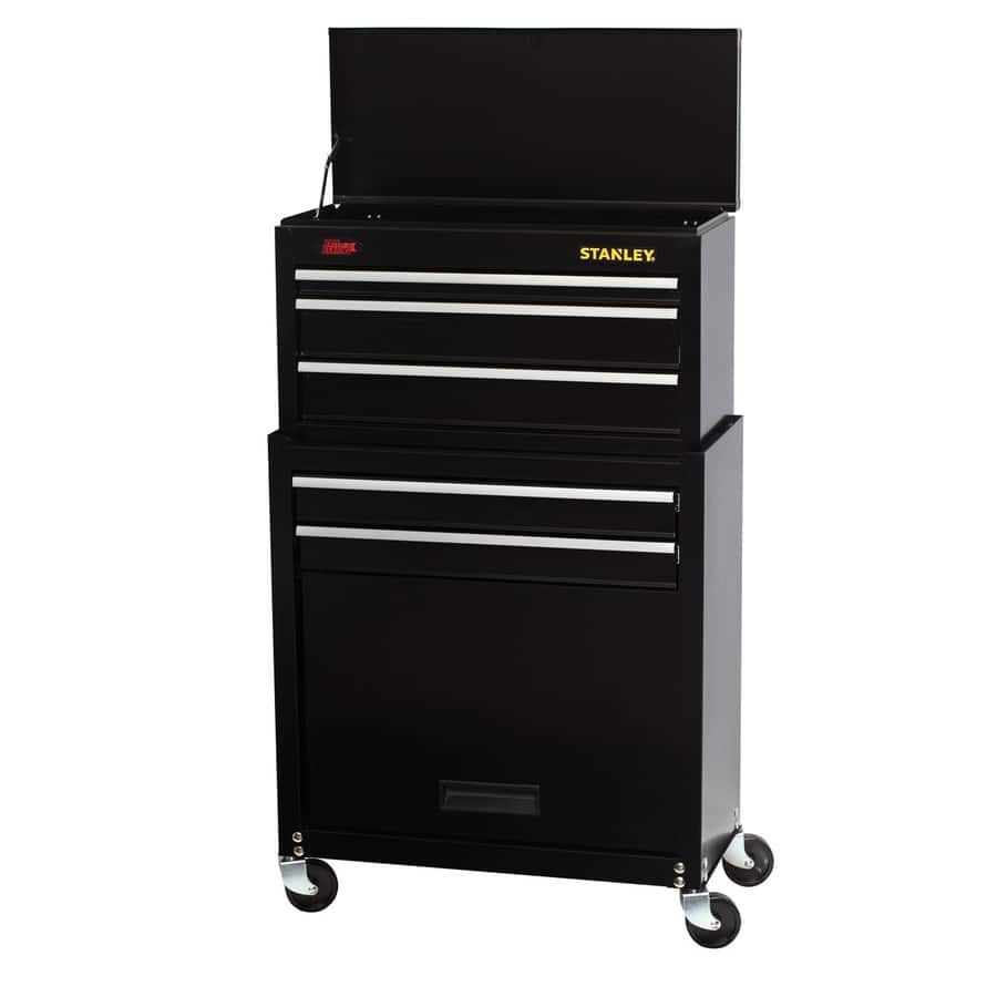 Stanley 68-Piece Mechanic's Tool Set with Rolling Tool Chest $79 @lowes $64 with $15 off coupon