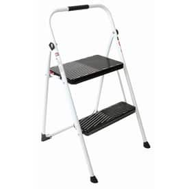 YMMV Werner 2-Step 200-lb White Steel Step Stool $9.58 @lowes price drop