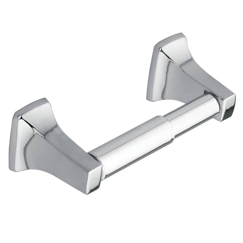 Moen Contemporary Towel Ring in Chrome $2.31 or Donner Double Post Toilet Paper Holder $2.37 @homedepot