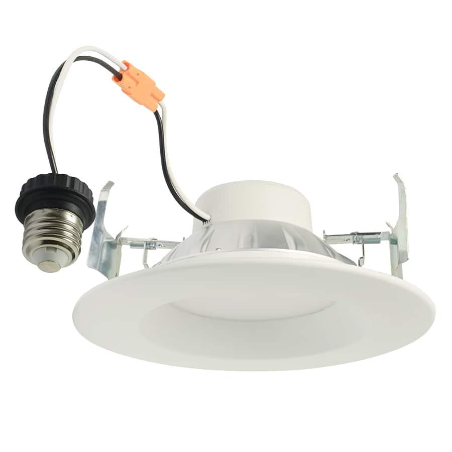 Now $2.69 Project Source 65-Watt Equivalent White Dimmable LED Recessed Retrofit Downlight (Fits Housing Diameter: 5-in or 6-in) @lowes