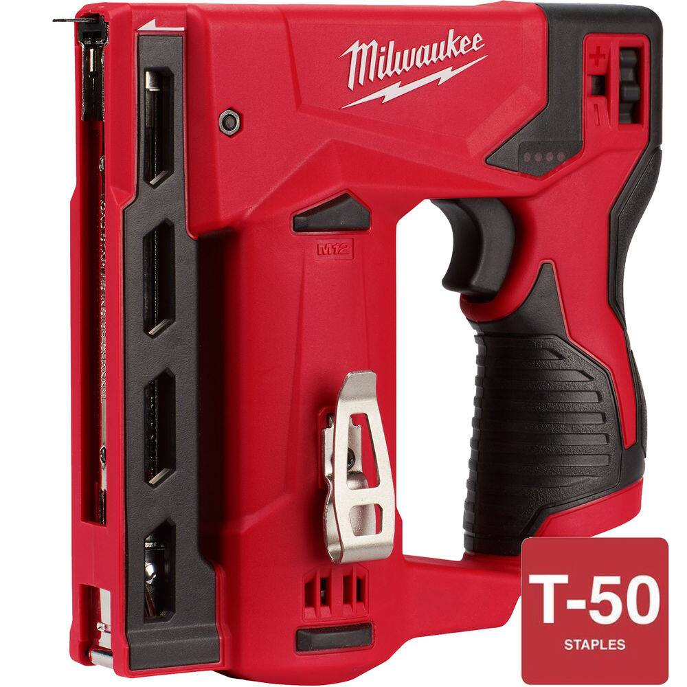 "Milwaukee 2447-20 M12 3/8"" Cordless Crown Stapler (Tool Only) $84.15 or less AC @ebay"