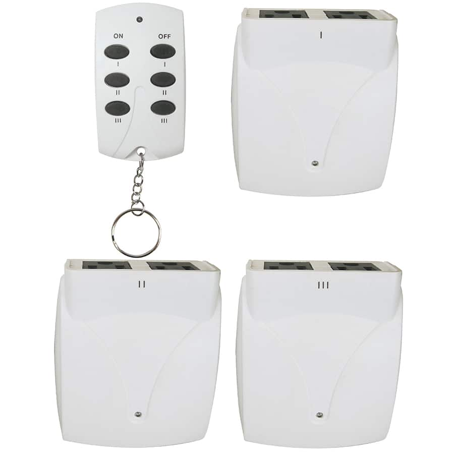 Ymmv Prime White Remote Control Lamp Module 3 Pack Outlet