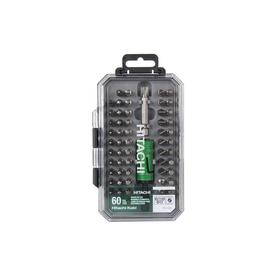 Hitachi 60-Piece Shank Screwdriver Bit Set $3.74 @lowes YMMV