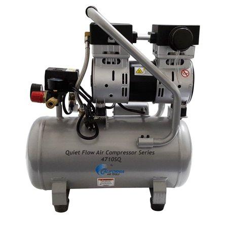 California Air Tools CAT-4710SQ 4710Sq Quiet Compressor 120 psi 1 HP 4.7 gal $103 @walmart or amazon