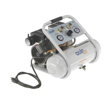 Quipall 2-1-SIL Silent and Oil Free Air Compressor, 1.0 HP, 1.6 Gallon, Steel Tank $99 or 2 Gallon Aluminum tank $110 @cpooutlets or ebay