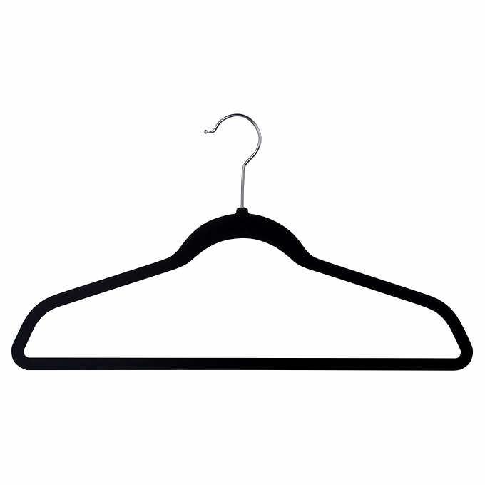 """Flocked Hangers, 1/8"""" Wide, 100 $25.99 @costco"""