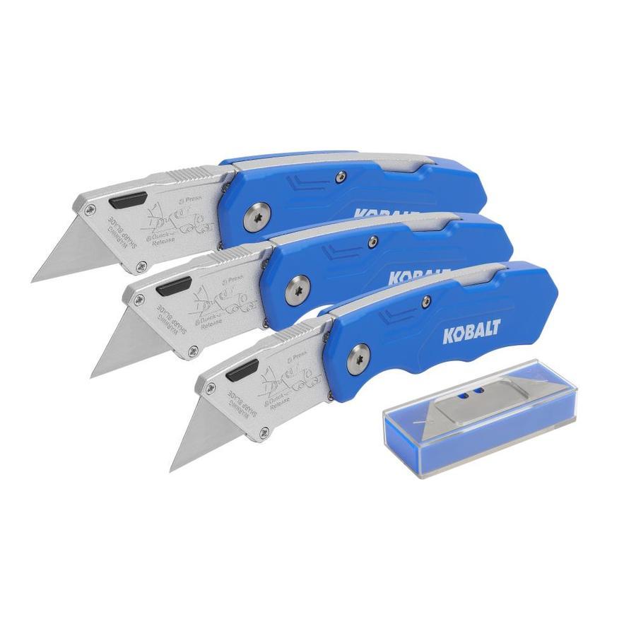 Kobalt 13-Blade (3 Folding Utility Knife + 10 blades) $7.98 @lowes YMMV