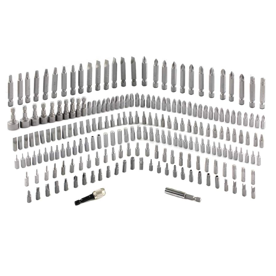 Kobalt 210-Piece High-Speed Steel Round Shank Screwdriver Bit Set $14.98 @lowes it was FP $20 2 months ago