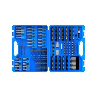 Kobalt 230-Piece High-Speed Steel Round Shank Screwdriver Bit Set $12.48 in store, $14.98 online @lowes