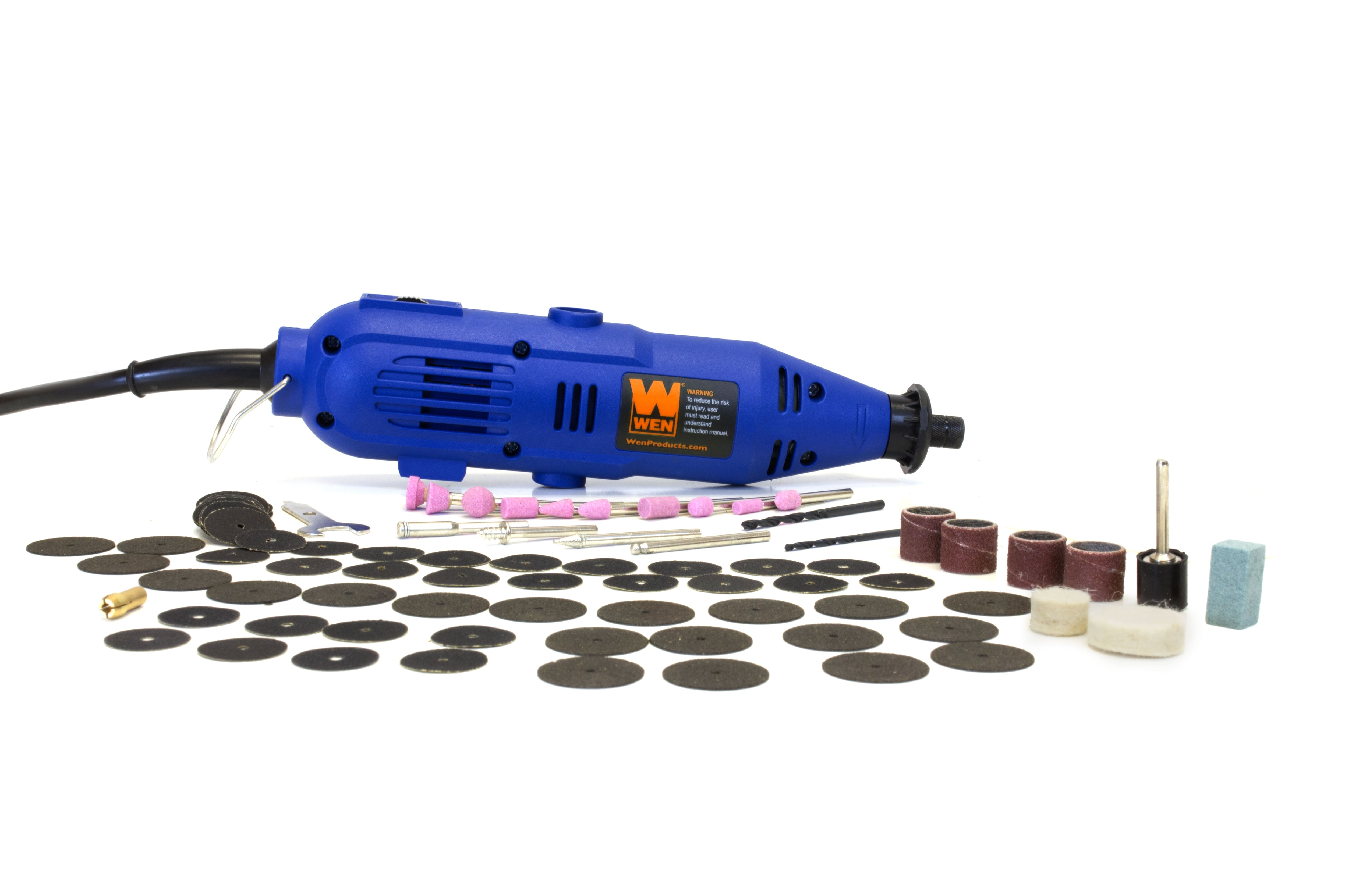 Wen 2307 Variable Speed Rotary Tool Kit No Flex Shaft 100 Accessories $13.67 @walmart or amazon