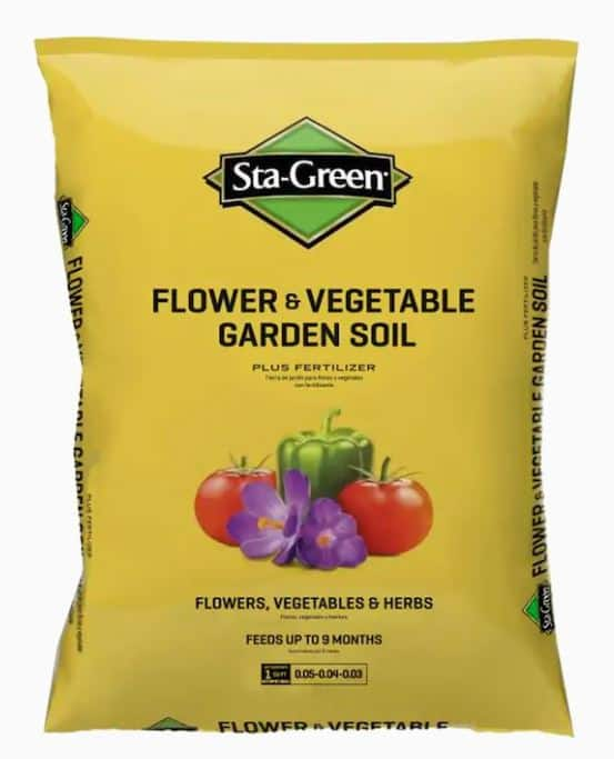 Sta-Green 1-cu ft Garden Soil $2.50 in store only @lowes