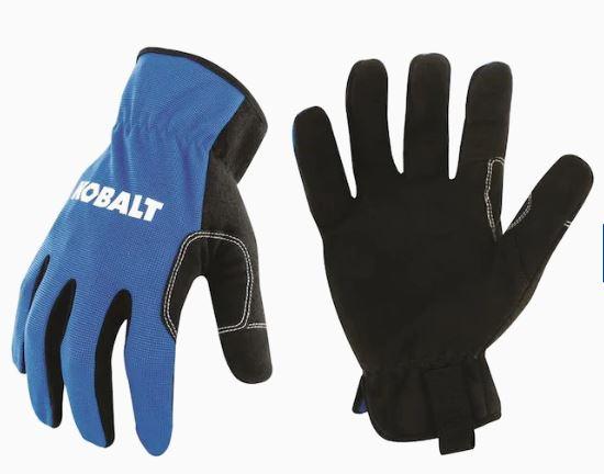 Kobalt Mens Polyester Utility Gloves, Large (2-Pack) $1.99 @lowes YMMV