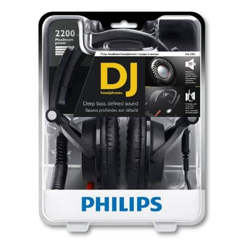 Philips SHL3300 DJ Over-Ear Black Headphones Newegg $9.99 Free Shipping