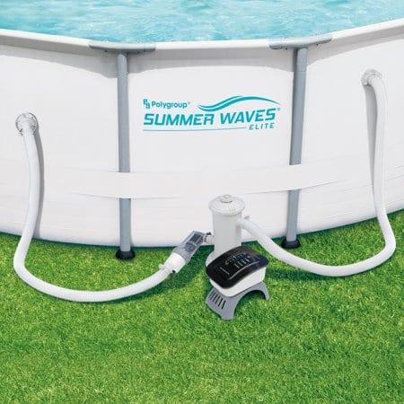 Summer Waves Salt Water Pool System for Above Ground Pools ...