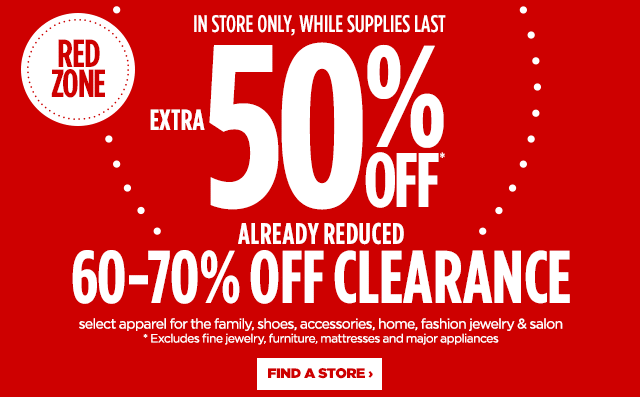 0e0c45ffbd3 All JCPenney In Store Clearance Extra 50% Off - Slickdeals.net