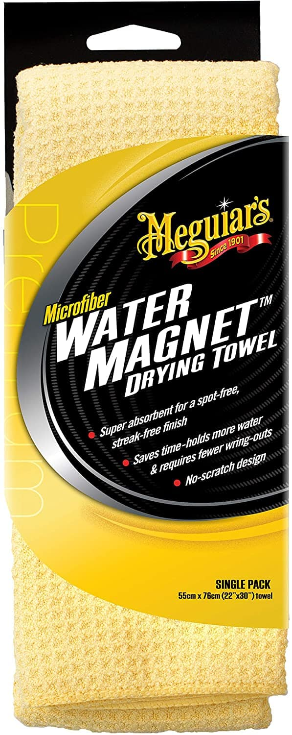 Meguiar's X2000 Water Magnet Microfiber Drying Towel: Automotive