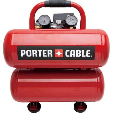 Great deal on Porter-Cable 4 Gal. Stack Tank Electric Air Compressor on Walmart.com $99.99
