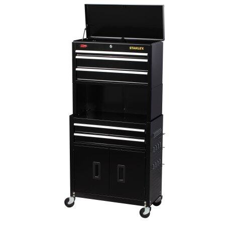 Great deal on the Stanley 24-Inch 5 Drawer Tool Chest and Cabinet for $79.99 on Walmart
