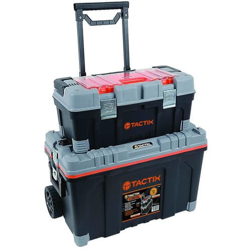 Great deal on a Tactix 2-In-1 Rolling Tool Box on Walmart.com $30.99