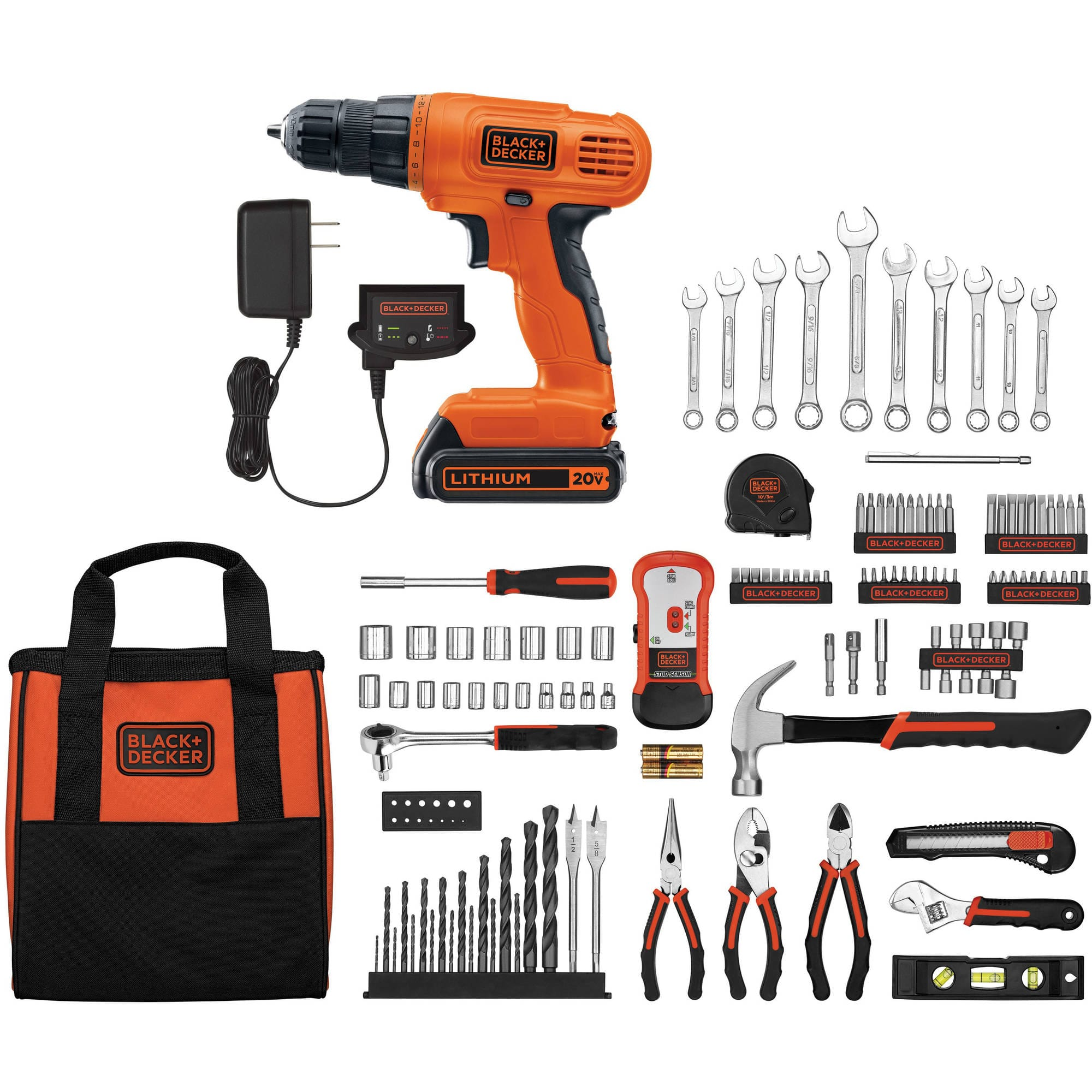 Deal on Black & Decker Drill/Driver and 128-Piece Project Set on Jet.com $69.88