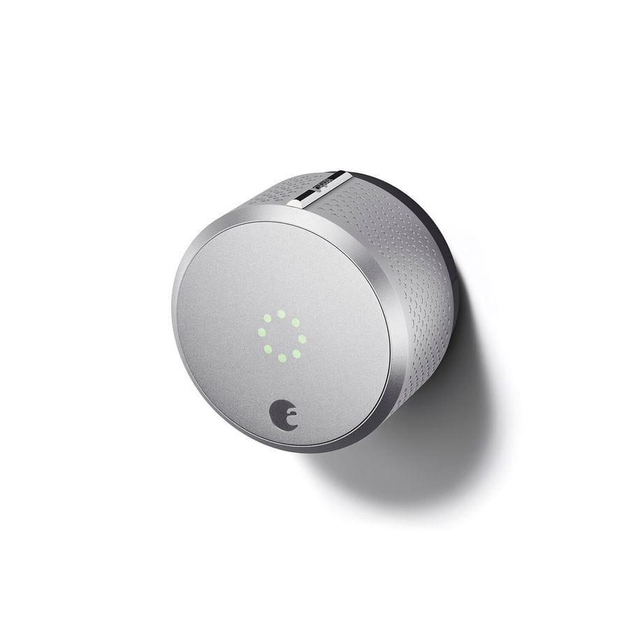 August Smart Lock - Silver - Lowes - $99 after $20 off $100 $119