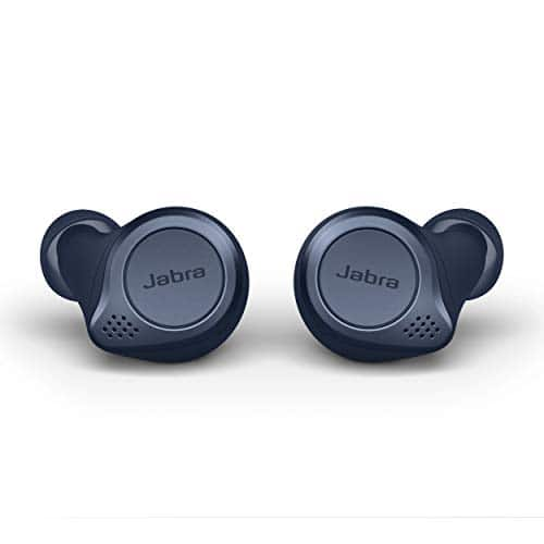 (Warehouse Deals - Like New) Jabra Elite Active 75t True Wireless Bluetooth Earbuds, Navy for $74.10